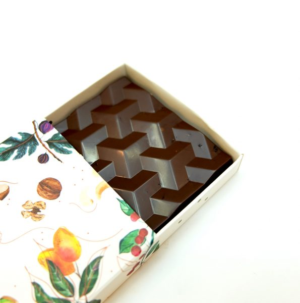 Şekersiz Vişne Tablet Çikolata