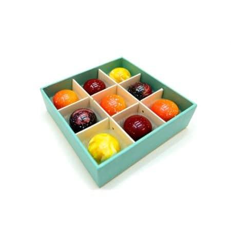 9'lü Ekşi Meyveler Bonbon Kutu
