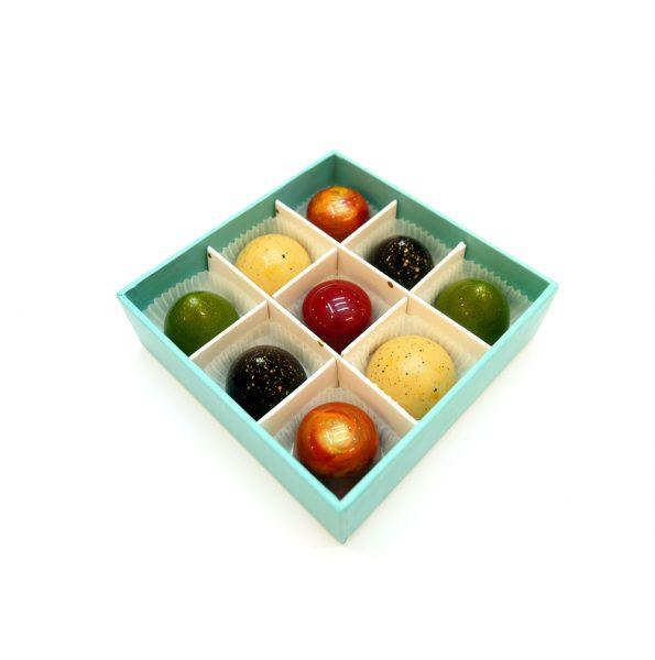 9'lü Klasik Bonbon Kutu