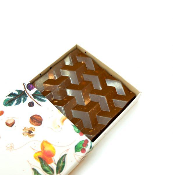 Kaju & Ananas Tablet Çikolata