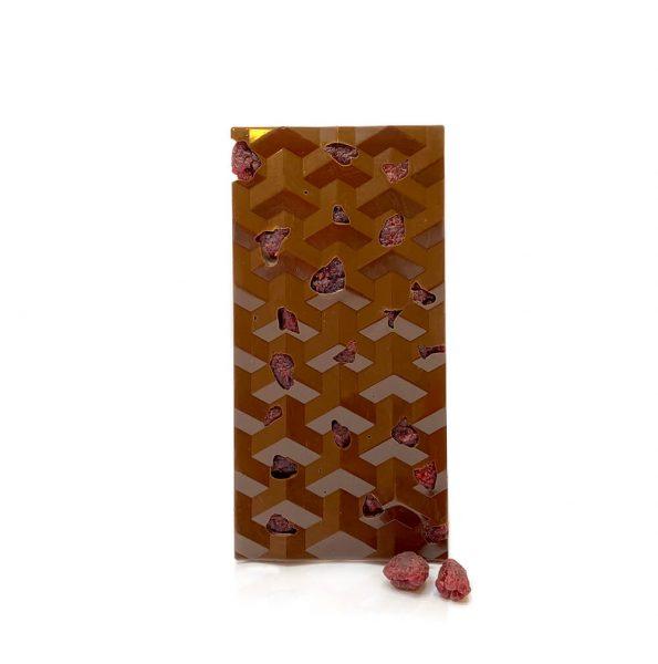 Vegan & Glütensiz Frambuazlı Sütlü Tablet